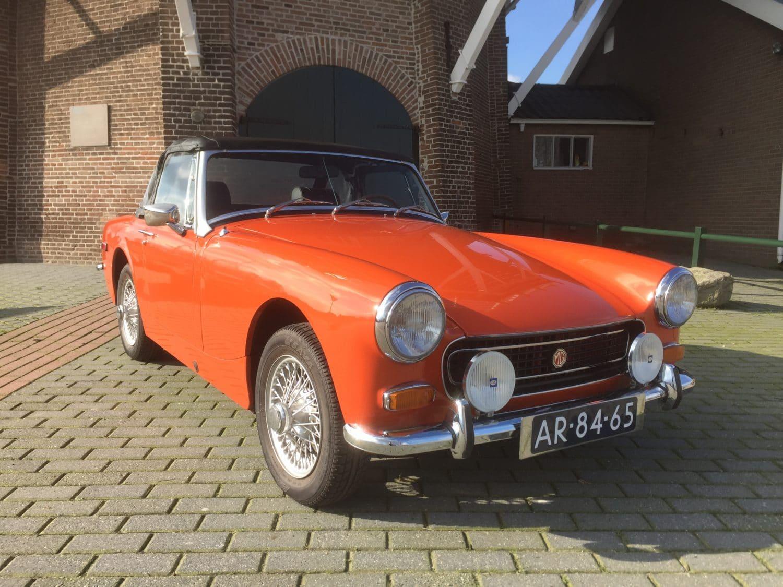 1972年 MG ミゼット ロードスター